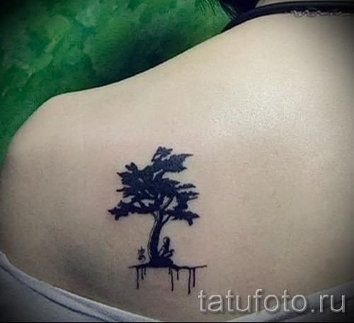 Фото тату дерево - рисункb для тату 09122015 № 110