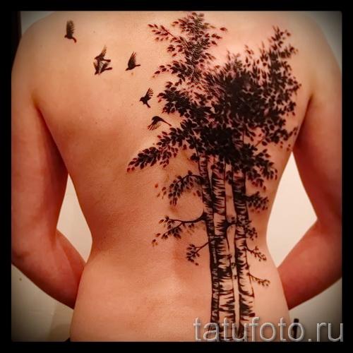 Фото тату дерево - рисункb для тату 09122015 № 122
