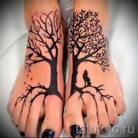 Значение тату дерево