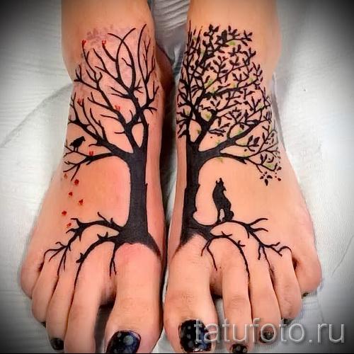 Фото тату дерево - рисункb для тату 09122015 № 149