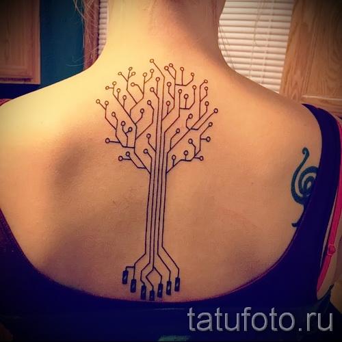 Фото тату дерево - рисункb для тату 09122015 № 160