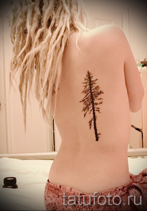 Фото тату дерево - рисункb для тату 09122015 № 166