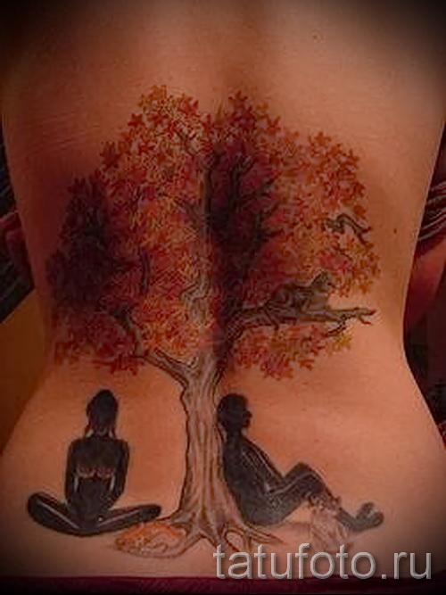 Фото тату дерево - рисункb для тату 09122015 № 172