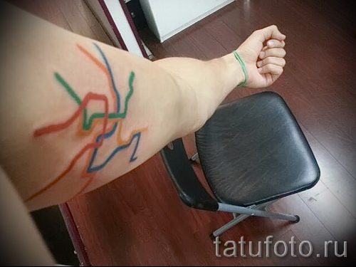 Фото тату на бицепсе - примеры от 09122015 №127