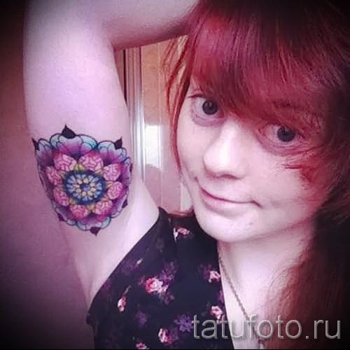 Фото тату на бицепсе - примеры от 09122015 №183