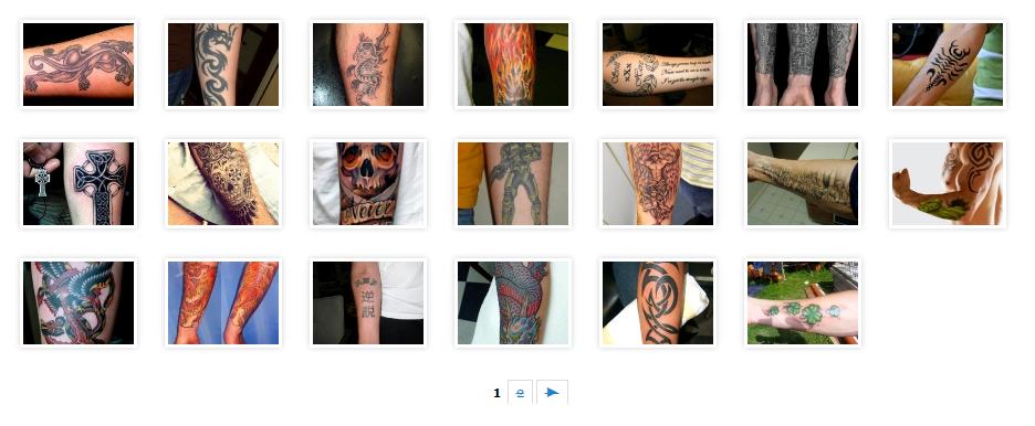 Эскизы татуировок на сайте tattoohin