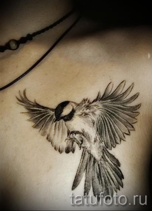 тату воробей - фото примеры татуировки от 07122015 3