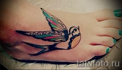 тату воробей - фото примеры татуировки от 07122015 6