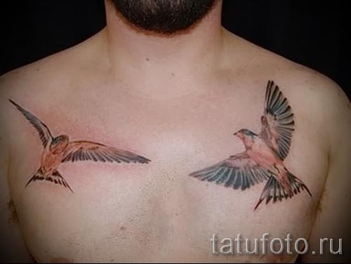тату воробей - фото примеры татуировки от 07122015 7