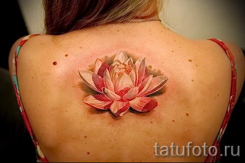тату цветок лотоса фото - фото вариант от 21122015 № 2