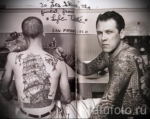тюремные тату паутина - фото готовой татуировки - 20122015 № 4