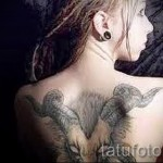 Capricorn tattoos for girls - Photo example of 18122015№ 1