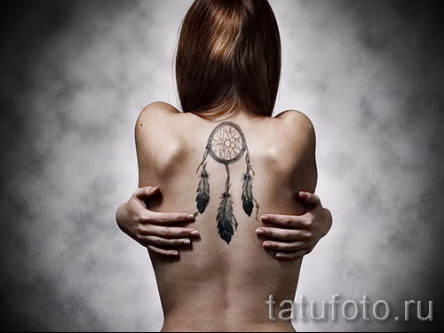 Dreamcatcher tattoo girls - Photo example of the number 11122014 1