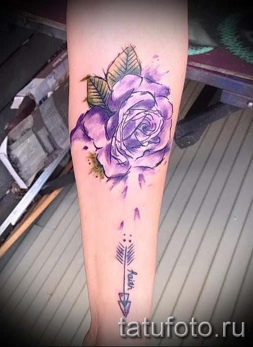 Picture-Option aus dem Nummer 15122015 - Aquarell tattoo rose 1