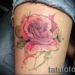 Picture-Option aus dem Nummer 15122015 - Aquarell tattoo rose 2