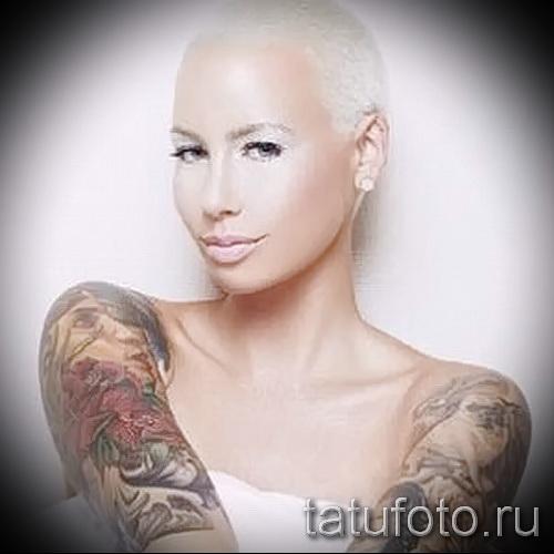 Rose Tattoo auf dem Arm in girls - Picture-Option aus dem Nummer 15122015 2