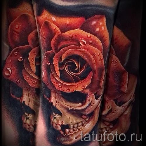 Rose Tattoo réalisme - l'option d'image à partir du numéro 15122015 1