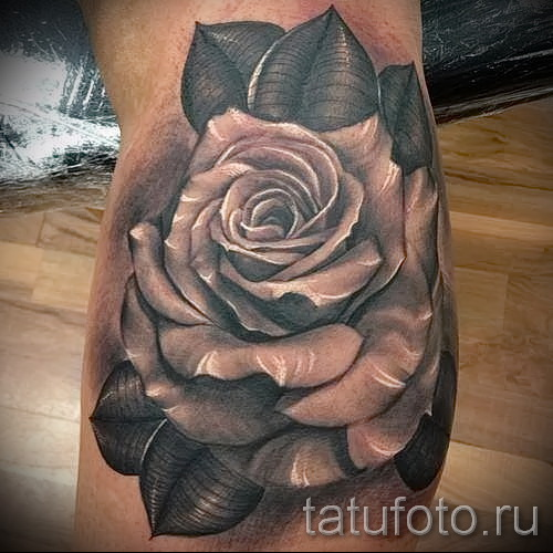 Rose Tattoo realism - Picture option from the number 15122015 1