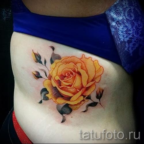 Rose Tattoo sur les nervures - option d'image à partir du numéro 15122015 1