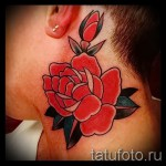 Rose old school tattoo - Picture-Option aus dem Nummer 15122015 3