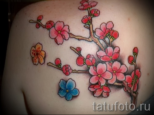 Sakura Tattoo - Photo example of the number 12122015 1