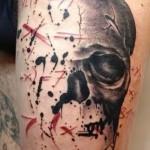 Tattoo Abstraktion Männer - Foto Beispiel für die Zahl 21122015 1
