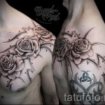 Tattoo Rose mit Dornen - Picture-Option aus dem Nummer 15122015 2