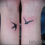 Tattoo Swallows Photo examples 4