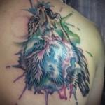 Zusammenfassung Tattoo Wolf - Foto Beispiel für die Nummer 21122015 1