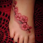 cherry blossom tattoo - Photo example of the number 12122015 1