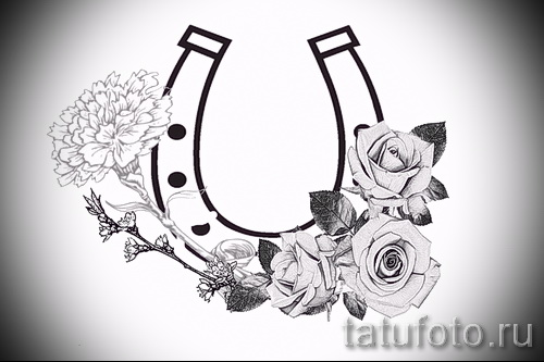horseshoe tattoo designs - example pictures 1