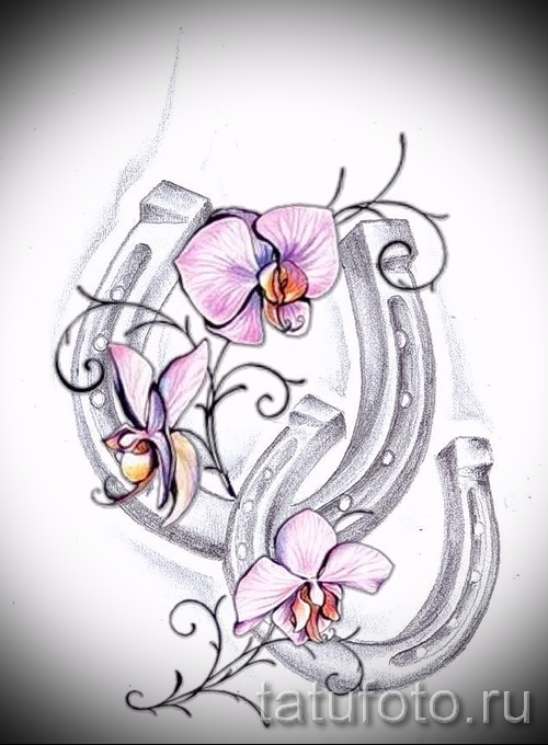 horseshoe tattoo designs - example pictures 5