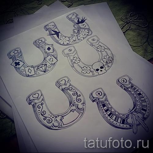 horseshoe tattoo photos by 07122015 3