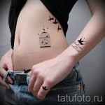 little swallow tattoo - Photo example 2