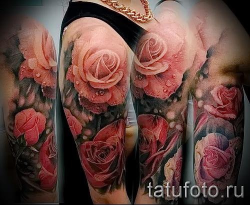 manchon de tatouage rose - possibilité de photos à partir du numéro 15122015 1
