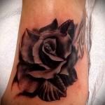 noir Rose Tattoo - option d'image à partir du numéro 15122015 1