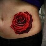 rose rouge tatouage - option d'image à partir du numéro 15122015 1