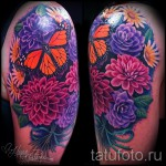 tattoo bouquet of flowers - Photo option from the number 21122015 1