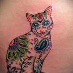 tattoo cats in the colors of the photo-photo option number 21122015 1