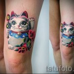 tattoo cats in the colors of the photo-photo option number 21122015 2