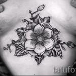 tattoo flower mandala - a cool photo of the tattoo number 21122015 1