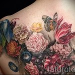 tattoo flowers peonies - a variant of the picture number 21122015 1