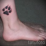 tattoo on her ankle for example photos of girls 1
