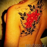 tattoo red flower - a photo on a cool tattoo number 21122015 1