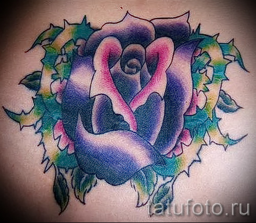 tattoo rose with thorns - Picture option from the number 15122015 1