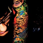 tattoo sleeve colors - photos from the option number 21122015 1
