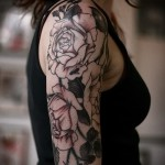 tattoo sleeve rose - Photo option from the number 15122015 1