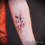 tattoo watercolor flowers - Picture option from the number 21122015 1