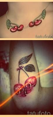 Значение тату вишня – варианты готовых татуировок на фото
