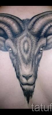 Тату козел – фото готовой татуировки от 10012016 1